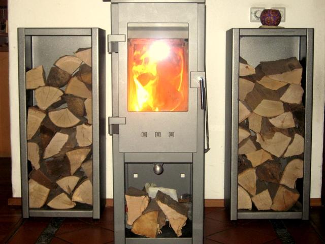 stu metall brennholzregal. Black Bedroom Furniture Sets. Home Design Ideas